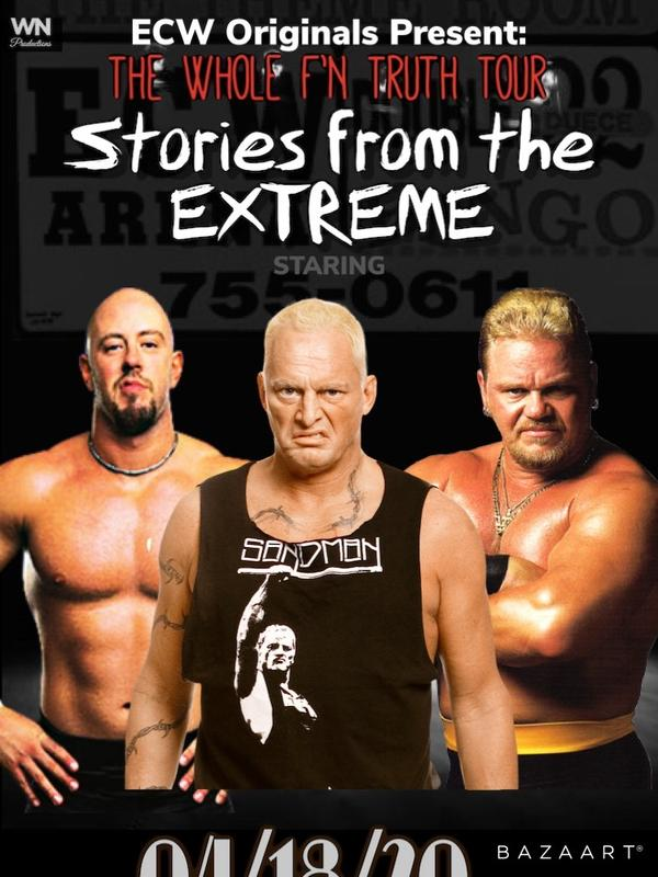 ECW Wrestling Stories from the Extreme
