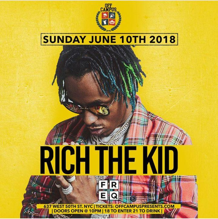 Official Summer Jam After Party Rich The Kid Live At Freq