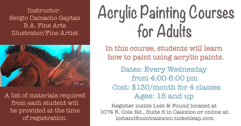 Acrylic Painting Courses for Adults