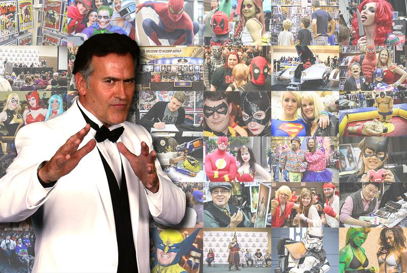Bruce Campbell's Horror Film Festival @ Chicago Comic Con 2014