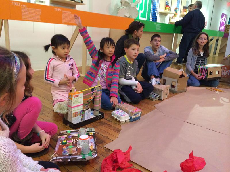 FAMILY WORKSHOPS - Constructing Play: Classic Building Toys