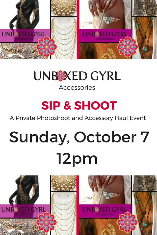 UNBOXED Gyrl Accessories SIP & SHOOT