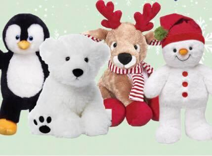 Teddy Bear Workshop Winter Edition Group 1 (ages 3-6)