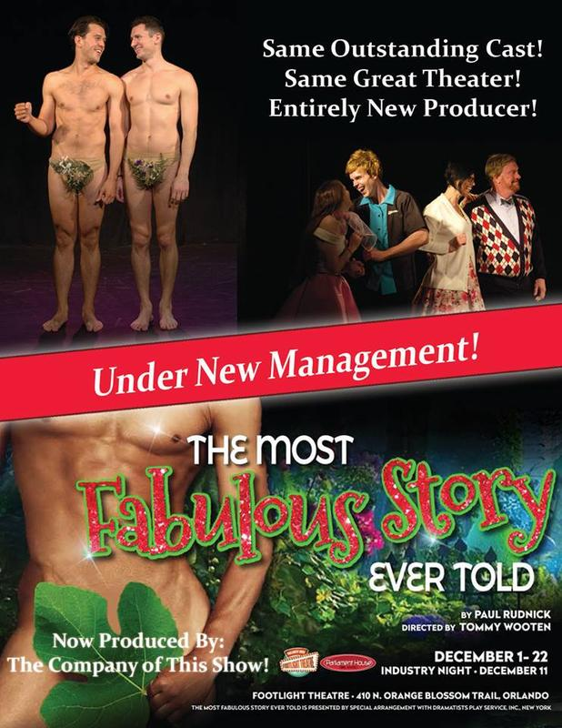 The Most Fabulous Story Ever Told: Under New Management