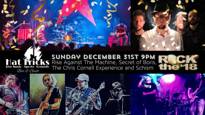 NYE-Rage Against The Machine, Limp Bizkit, Chris Cornell and Tool Tributes