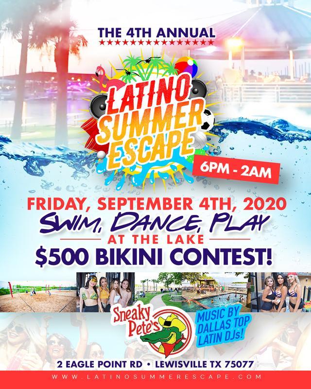 Latino Summer Escape 2020 - Lake & Pool Party