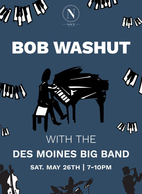 BOB WASHUT w/ THE DES MOINES BIG BAND