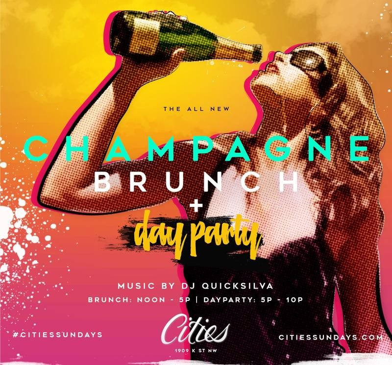 The Champagne Brunch & Day Party #CitiesSundays