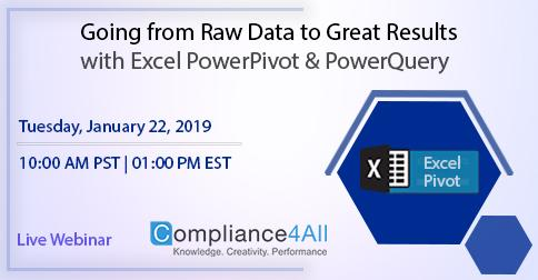 Raw Data to [Great Results] with Excel PowerPivot and PowerQuery