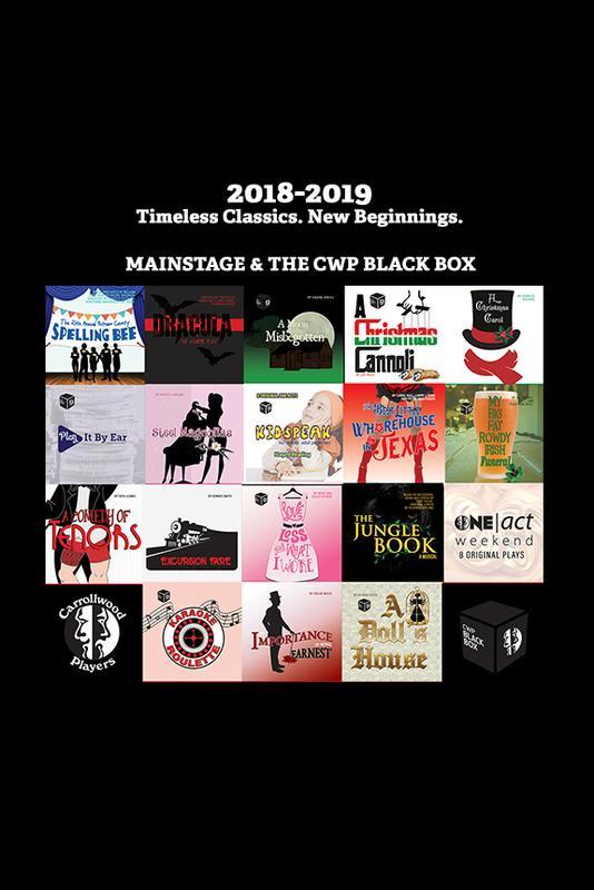 2018-2019 Mainstage Season Tickets and The CWP Black Box Season Pass