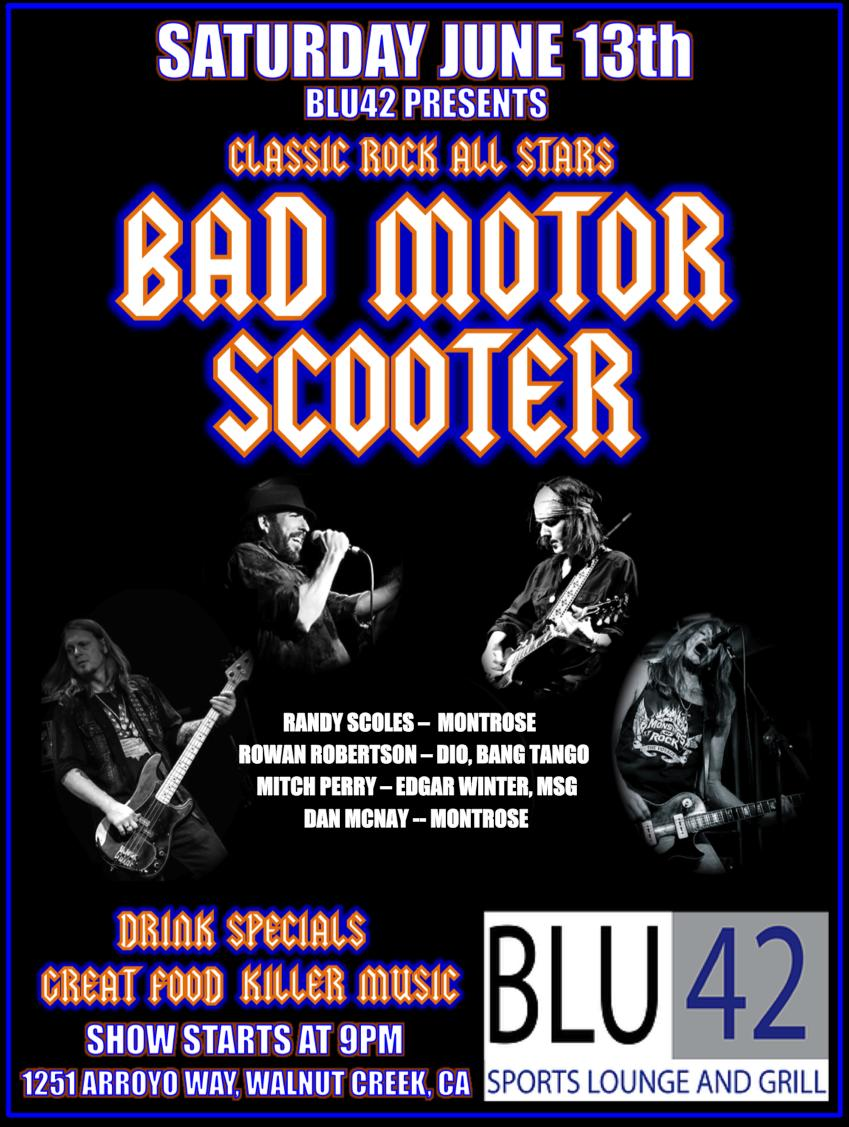 bad motor scooter live tickets in walnut creek ca united states. Black Bedroom Furniture Sets. Home Design Ideas