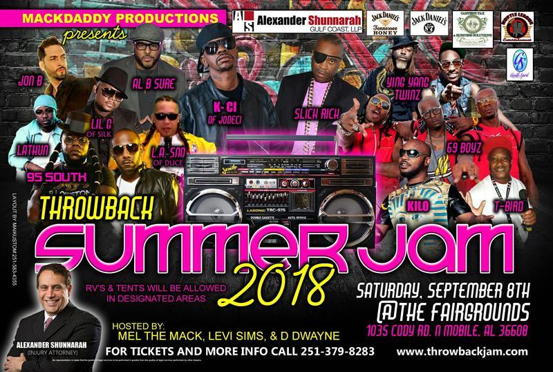 Throwback Summer Jam