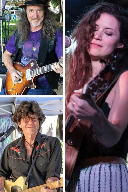 Mark Karan, Tom Finch & Mary Scholz house concert in Fairfax