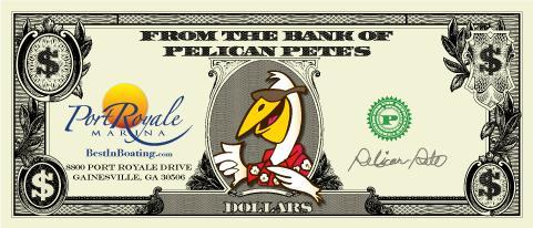 2017-2018 Pelican Pete's Gift Certificates