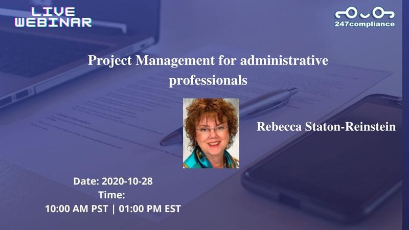 Project Management for administrative professionals