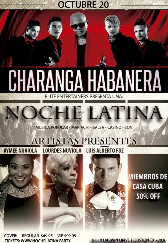 CHARANGA HABANERA  EN HOUSTON