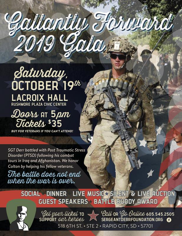 Sergeant Colton Levi Derr Foundation Tickets