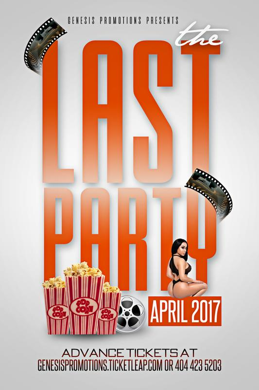 Genesis Promotions Presents #THELASTPARTY