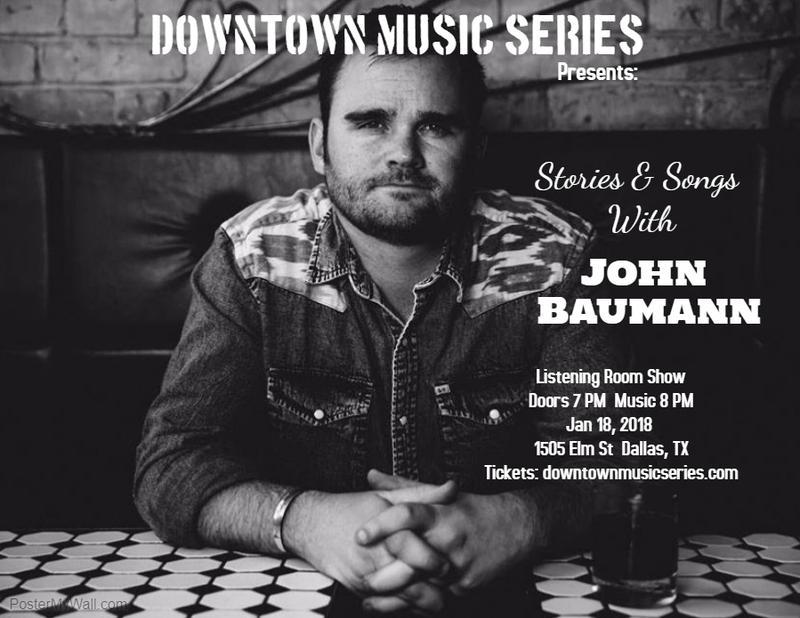 John Baumann - Downtown Music Series