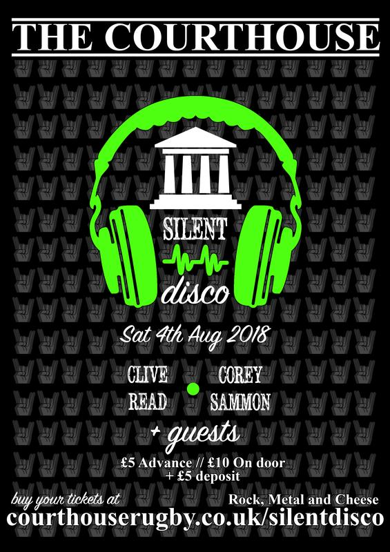 Silent Disco @ The Courthouse Rugby