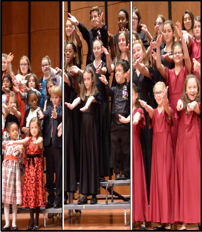 "CHILDREN'S CHORUS OF MD PRESENTS:  ""Voices of Peace"""