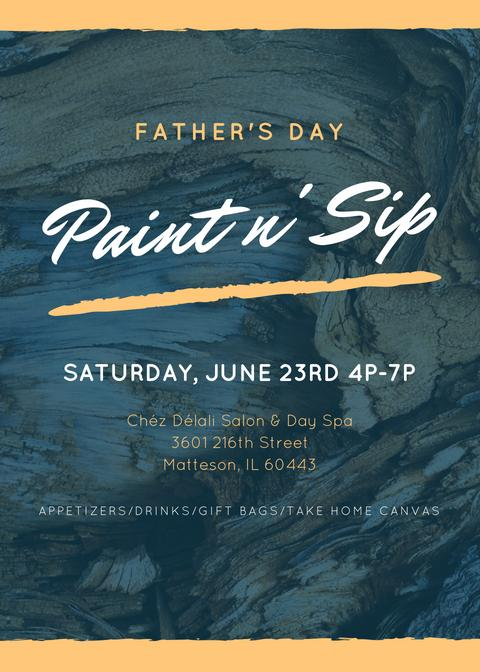 Father's Day Paint n' Sip