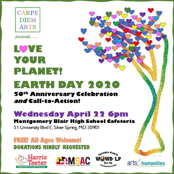 CARPE DIEM! EARTH DAY Celebration and Call-to-Action