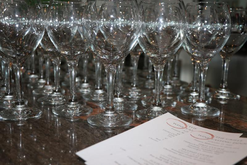 Fashion Cuisine Group Wine Pairing Dinner