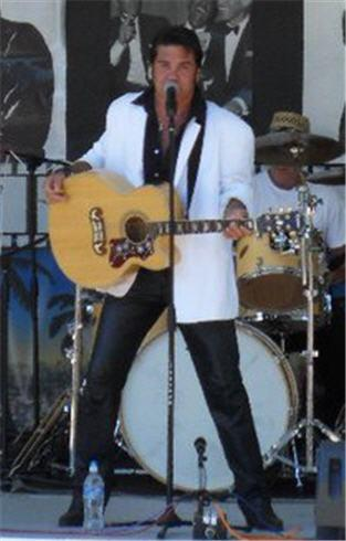 An Elvis Tribute, Johnny Seaton July 3rd