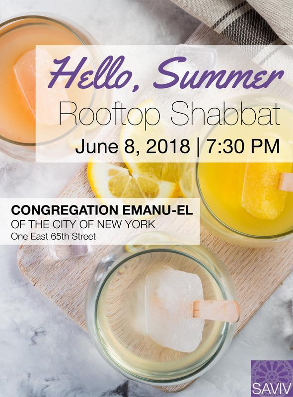 Hello Summer Rooftop Shabbat