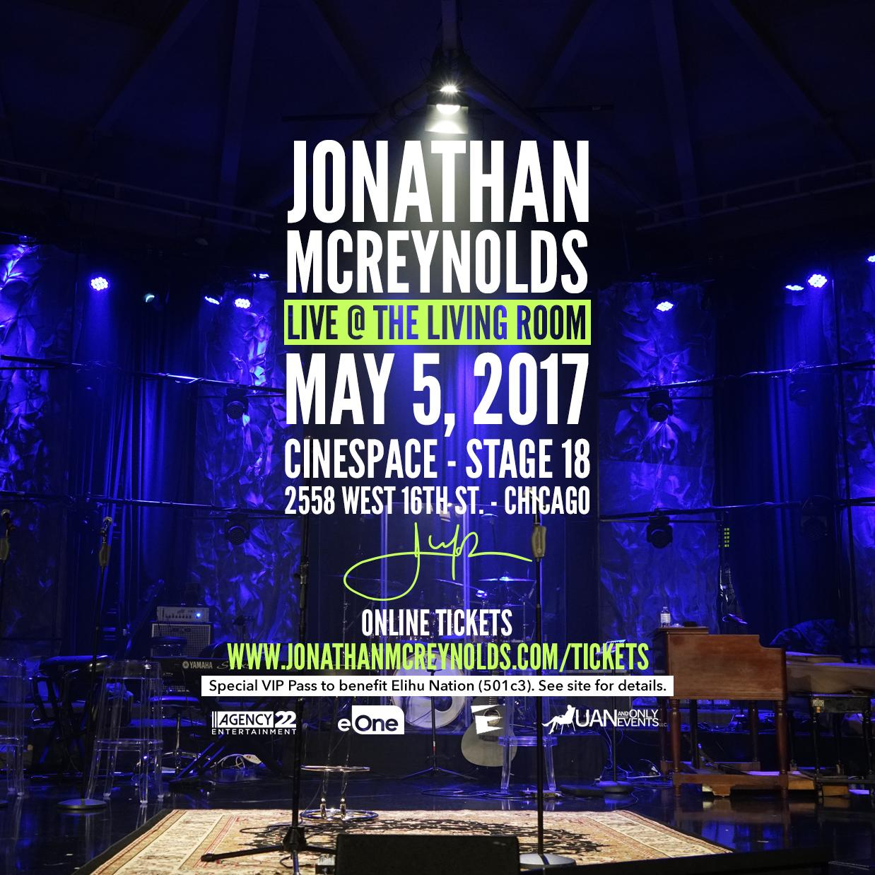 Jonathan Mcreynolds Live Recording The Life Room