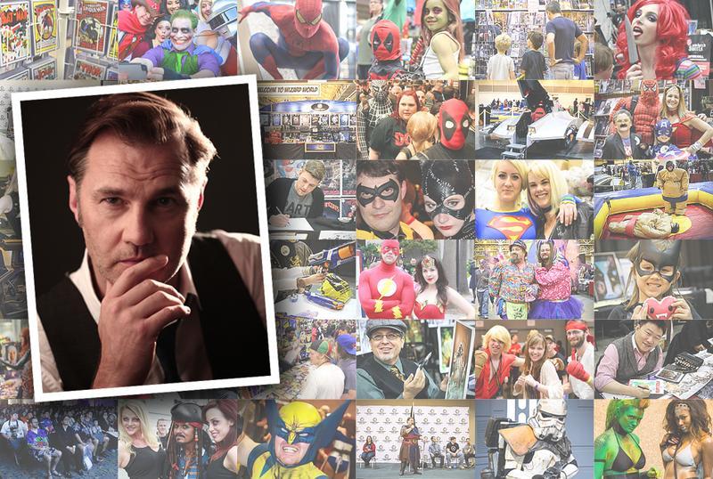 David Morrissey VIP @ Wizard World Comic Con Chicago 2015