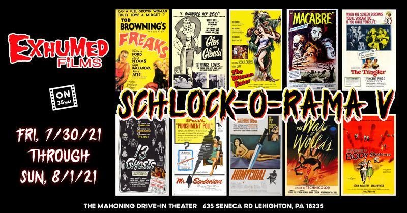 SCHLOCK-O-RAMA V (10 Films. All 35mm)