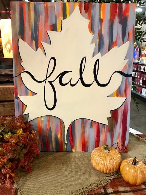 Fall Leaf 8/22 w/Robin