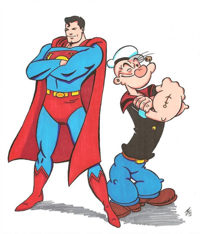 Kids Cartoon Matinee Summer Series Superman and Popeye