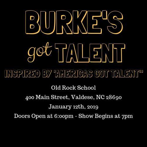 "Burke's Got Talent (inspired by ""Americas Got Talent"")"