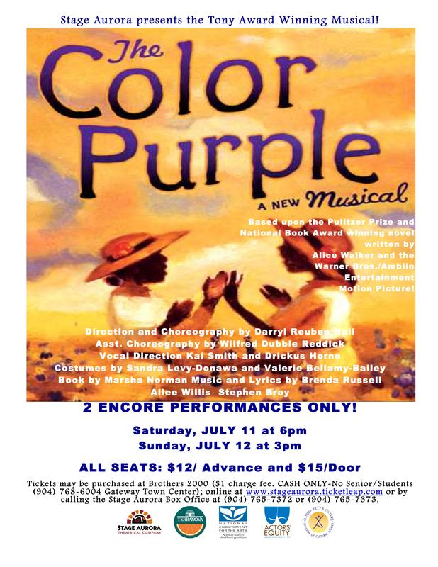 Lyric color purple lyrics : Stage Aurora Theatrical Company, Inc. Tickets