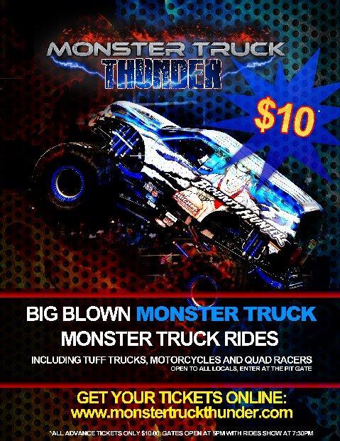Monster Truck Thunder - Crook County Fairgrounds