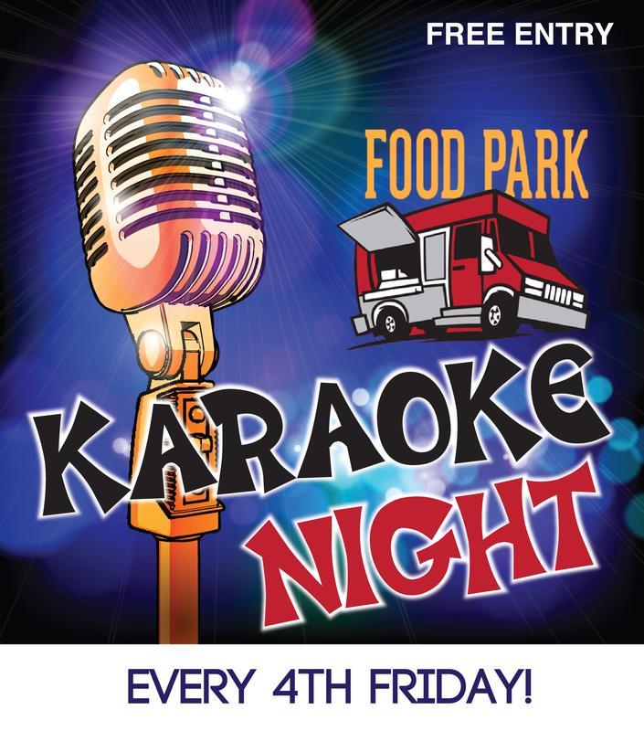Karaoke at the Food Park May 2018