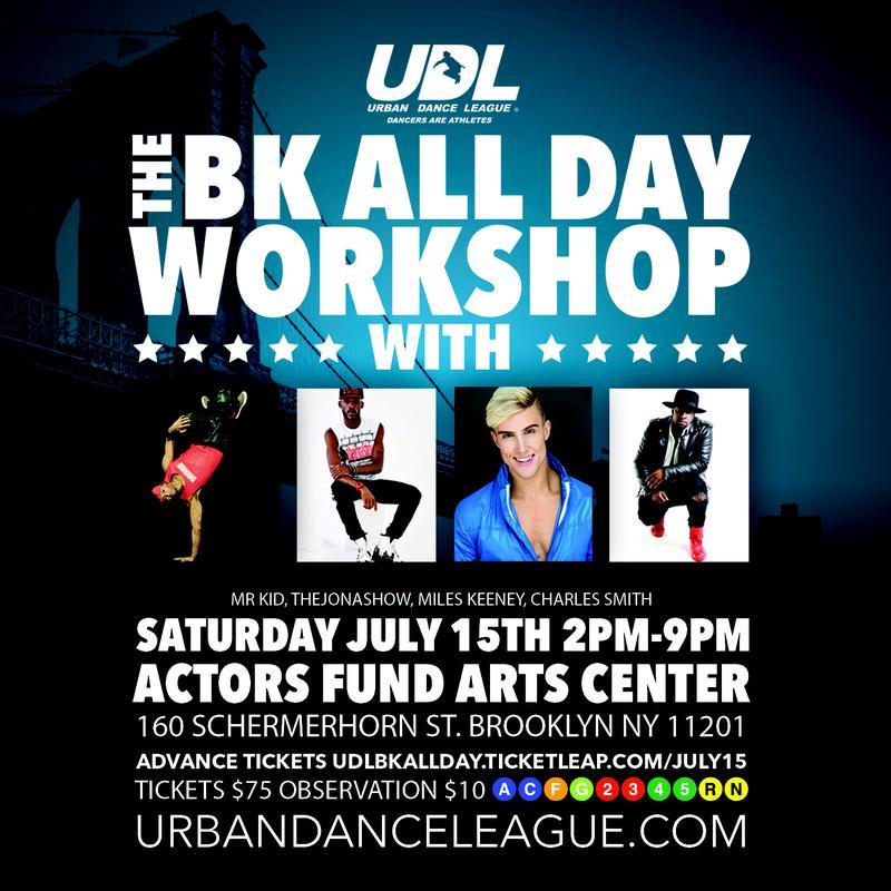 Saturday July 15th UDL BK All Day Workshop