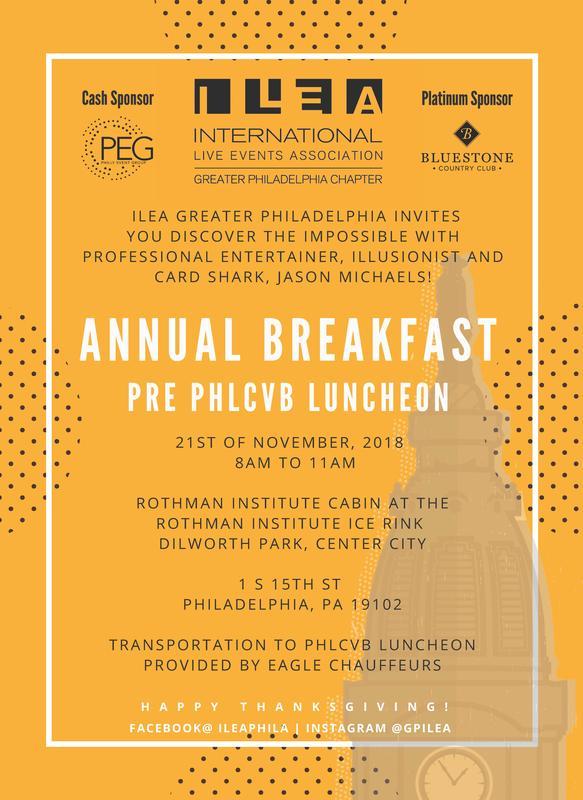 10th Annual (pre CVB luncheon) Breakfast Meeting