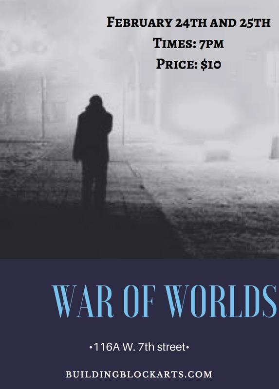 War of the Worlds Live Radio Production