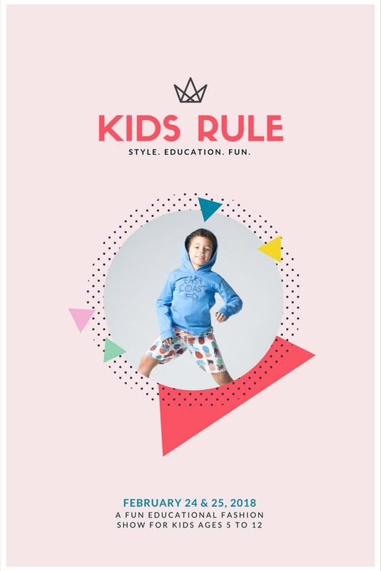 Kids Rule Fashion Show Tickets Feb 2018