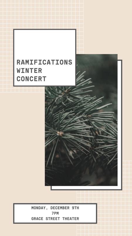 Ramifications Winter Concert