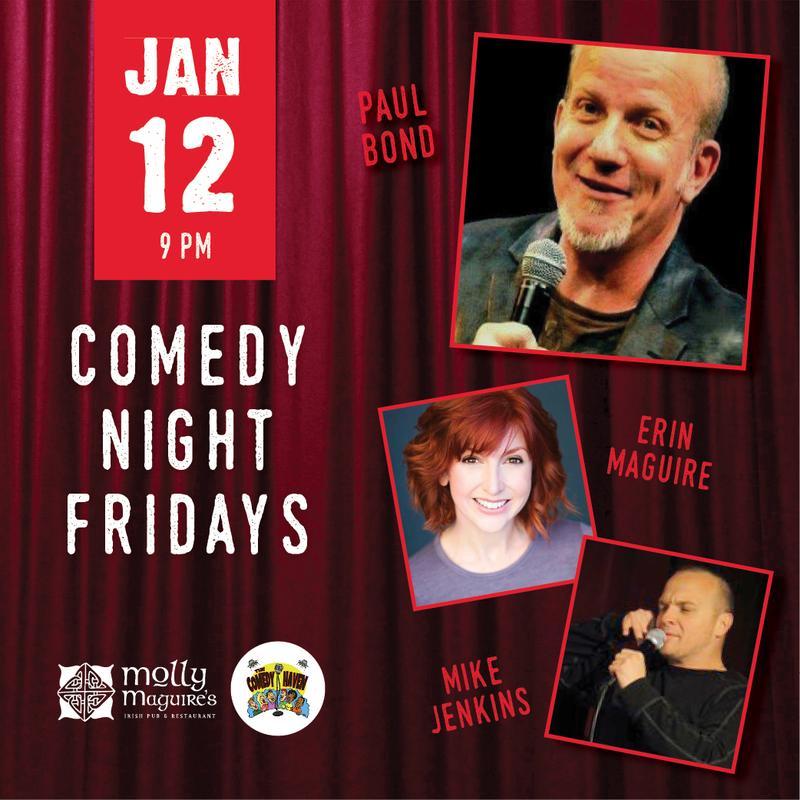 Comedy Night Fridays 1/12/2017