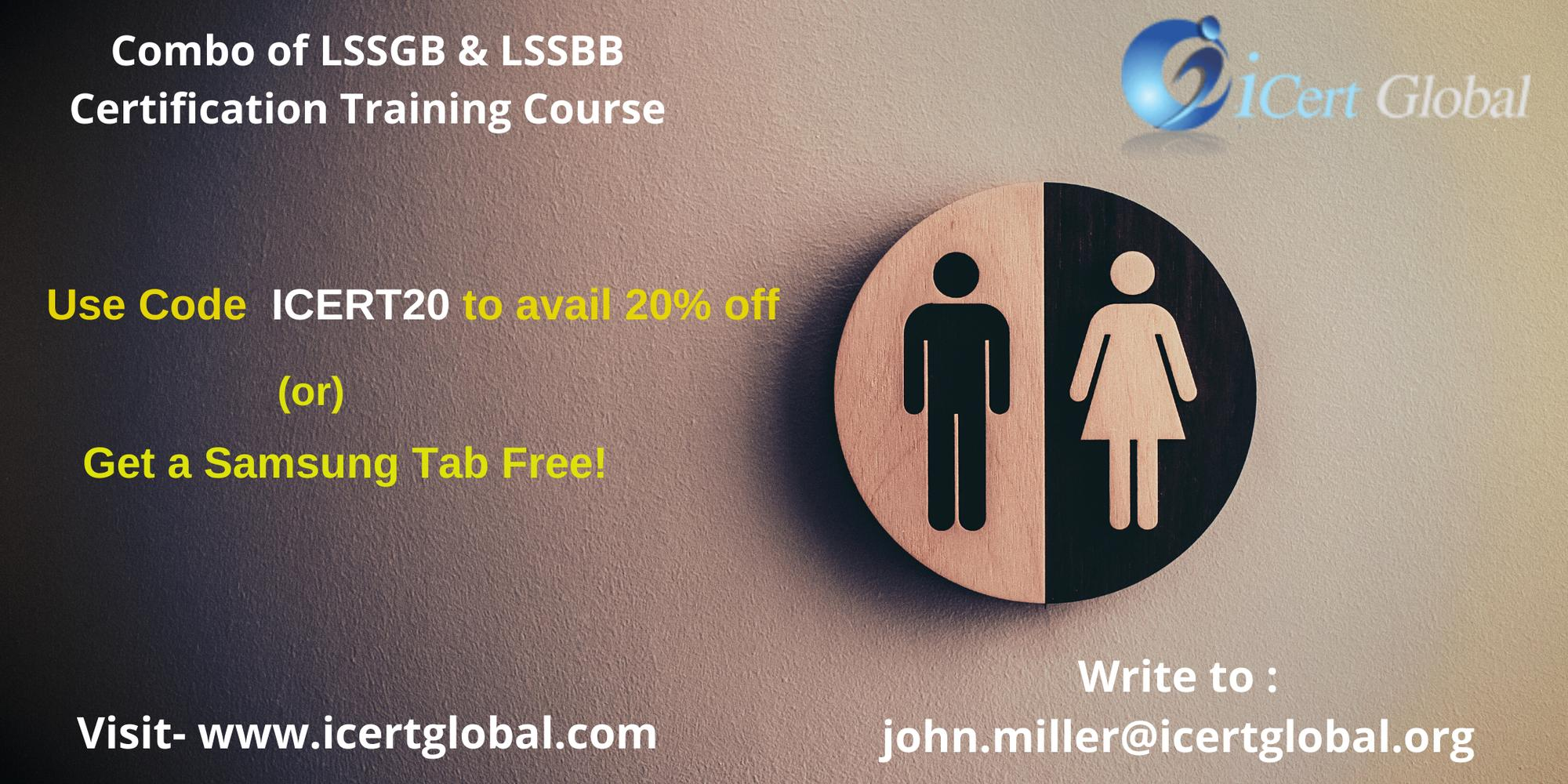 Combo LSSGB & LSSBB Certification Training in Tampa, FL