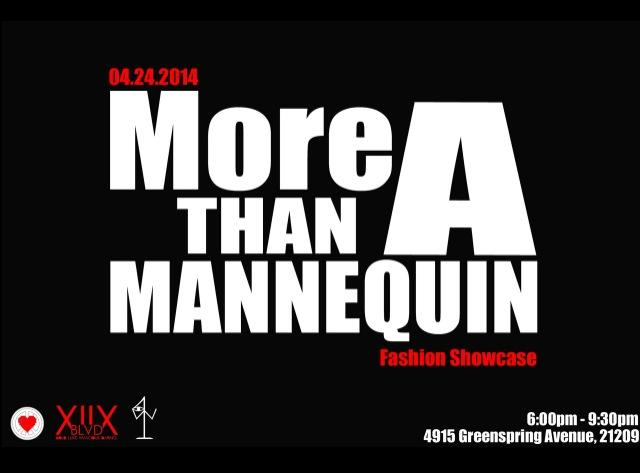 """More Than A Mannequin"" (#MTAM) launch & fashion showcase"