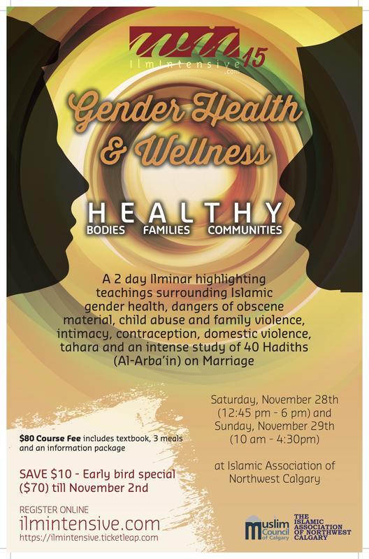Ilm Intensive 15: Gender Health & Wellness
