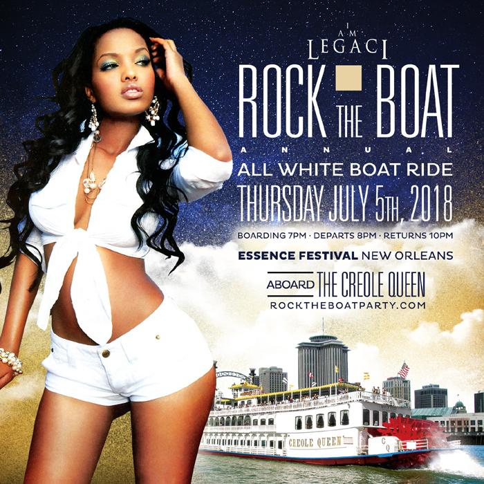 ROCK the BOAT 2018 the 6th Annual ALL WHITE BOAT RIDE PARTY