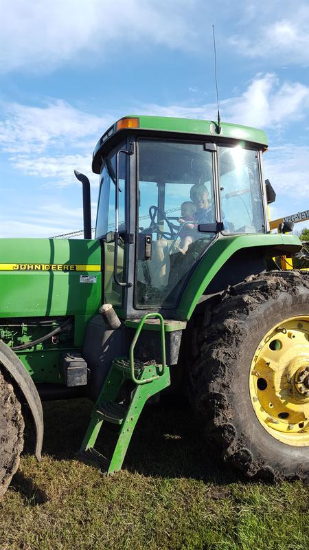 Tractors UP CLOSE!